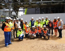 Safety team at Boilers, Montes del Plata/Uruguay