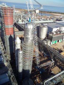 Oxygen reactor, Fiberline, Montes del Plata/Uruguay