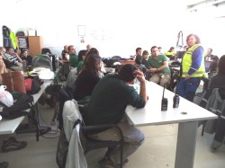 Safety Training, Montes del Plata/Uruguay