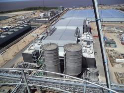 Drying Plant, Montes del Plata/Uruguay